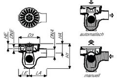 vonroll bodenablauf glocke figur 1802 schwarz stahl eshop. Black Bedroom Furniture Sets. Home Design Ideas